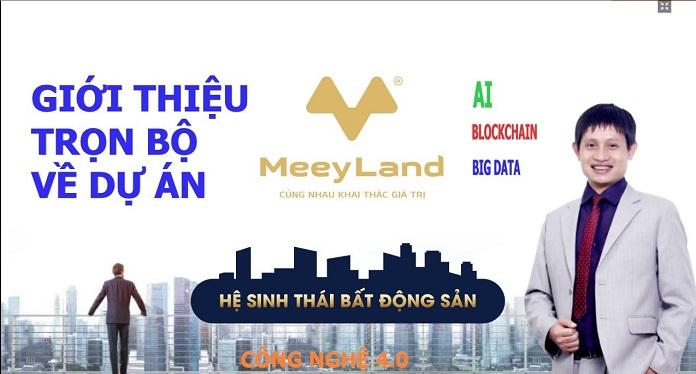 Giám đốc điều hành dự án Meey Land - ông Hoàng Mai Chung