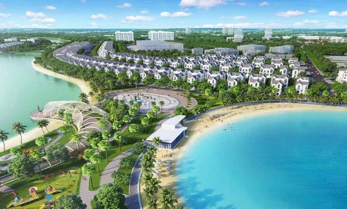 """Dự án Vin Ocean Park thiết kế với mục tiêu """"mang biển hồ về trong thành phố"""""""