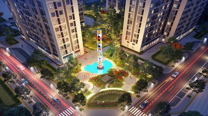 Dự án được thiết kế bởi 2 công ty lớn hàng đầu thế giới