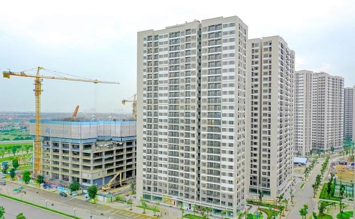 Vinhome Ocean Park có tiến độ xây dựng nhanh
