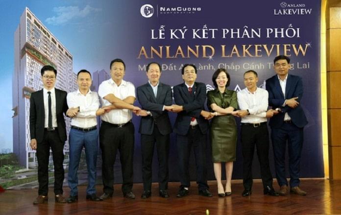 Chủ đầu tư Anland Lake View Nam Cường