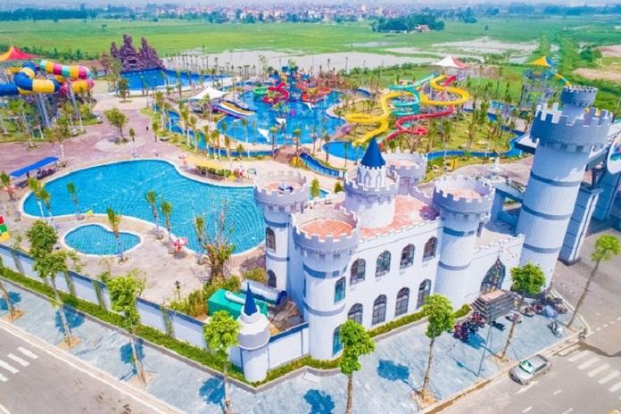 Công viên nước Thanh Hà là khu vui chơi giải trí tuyệt vời