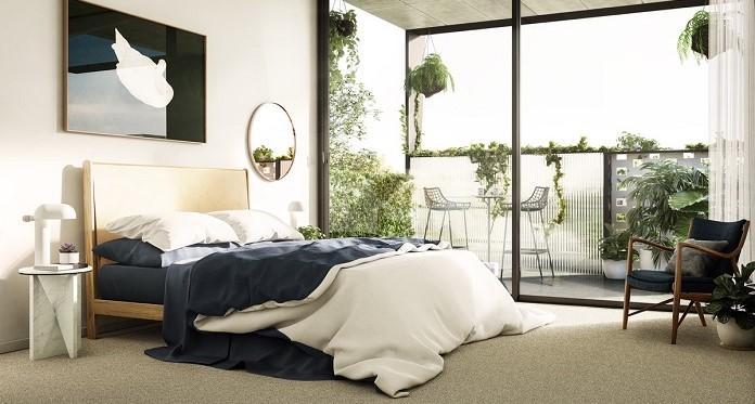 Đồ đạc trong phòng ngủ cần sắp xếp gọn gàng, sạch sẽ