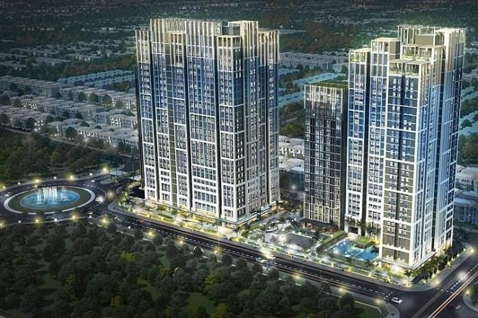 Dự án Opal Boulevard Phạm Văn Đồng gồm 2 tòa tháp với hơn 1400 căn hộ