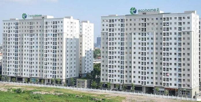 Ecohome 3 nằm gần rất nhiều dự án chung cư cao cấp và trường đại học lớn