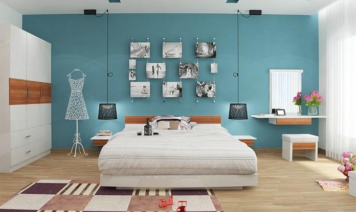 Gương soi cần tránh đặt đối diện giường