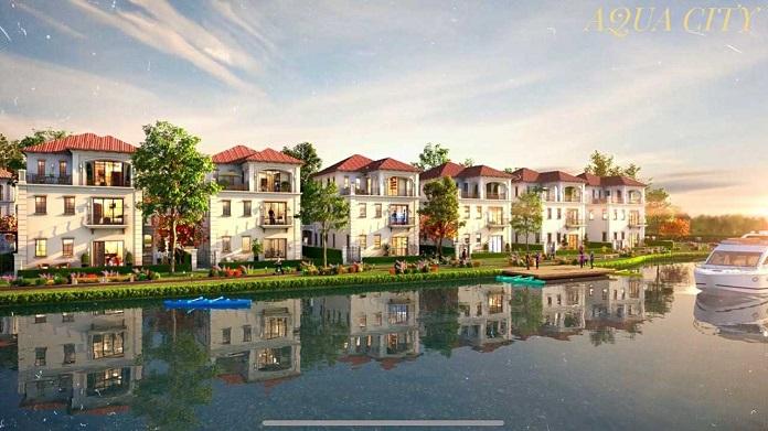 Khu đô thị Aqua City thu hút từ mọi góc nhìn