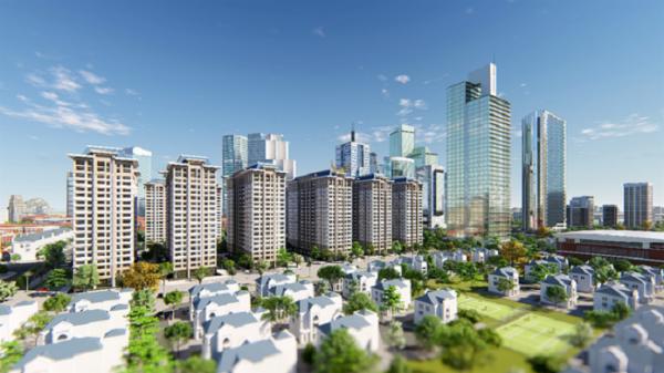 Khu đô thị Thanh Hà nằm ở vị trí vô cùng thuận lợi