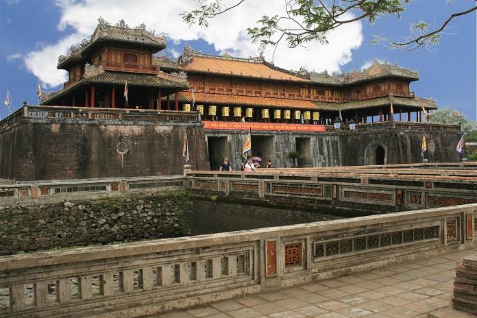 Kiến trúc của Hoàng Thành Huế mang đậm màu sắc dân tộc