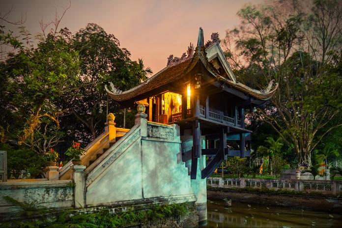 Ngôi chùa sở hữu nét kiến trúc độc đáo nhất Việt Nam