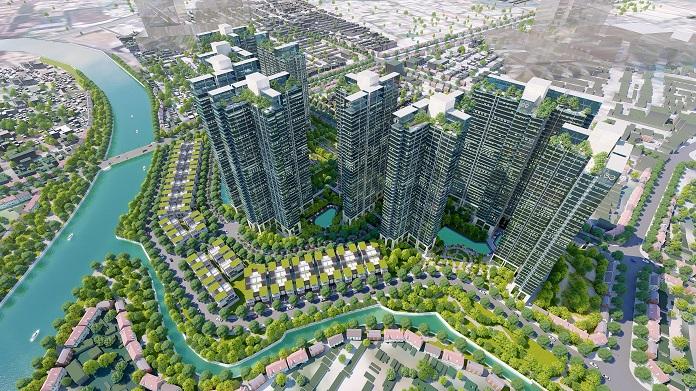 Phối cảnh của dự án Sunshine City Sunshine City Sài Gòn quận 7