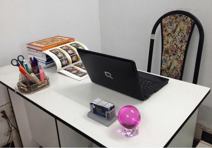 Tận dụng một số những vật dụng ngũ hành cho không gian làm việc