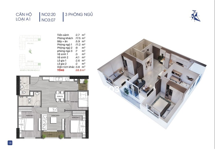 Thiết kế các căn hộ cực kỳ hợp lý và ấn tượng