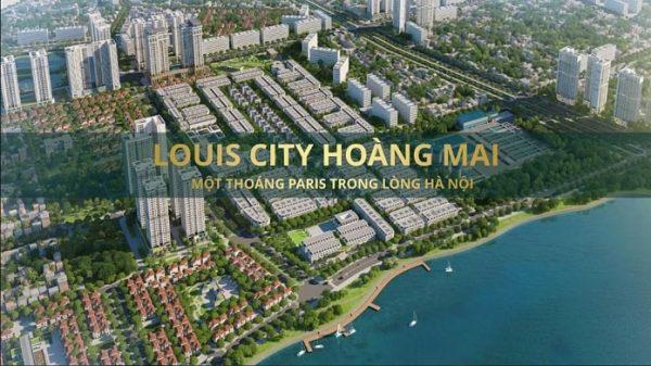 Thiết kế khu đô thị Louis City