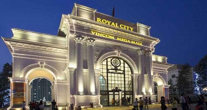 Ý tưởng thiết kế Royal City Hà Nội
